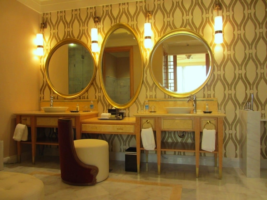 Bathroom, The Grand Ho Tram Casino & Resort