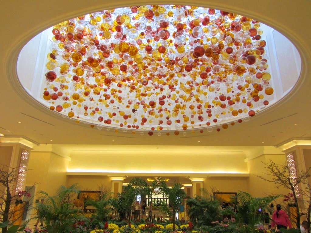 The lobby, The Grand Ho Tram Casino & Resort