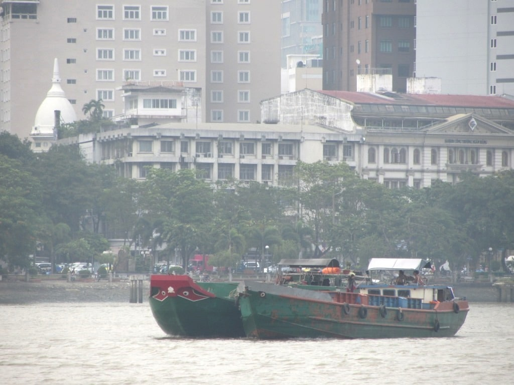 The Saigon River, seen from District 2