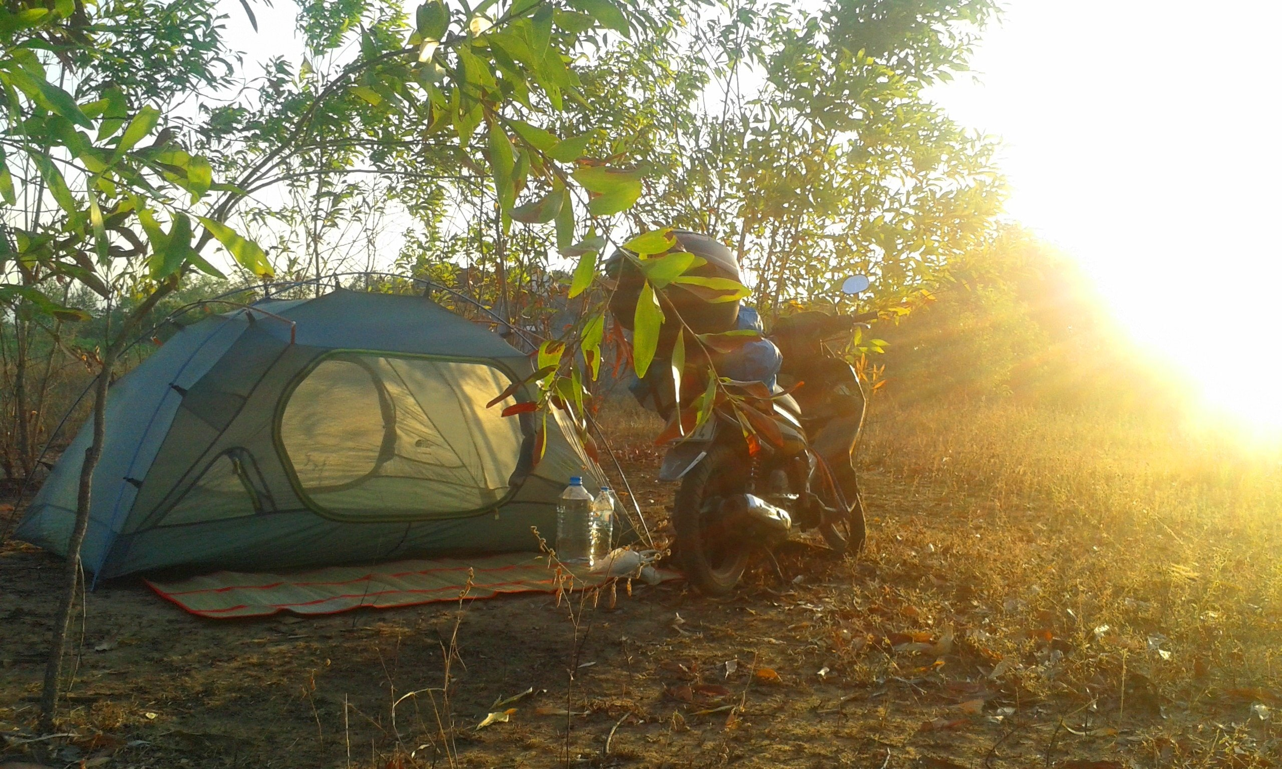 Camping near the Cai River, Ninh Thuan Province