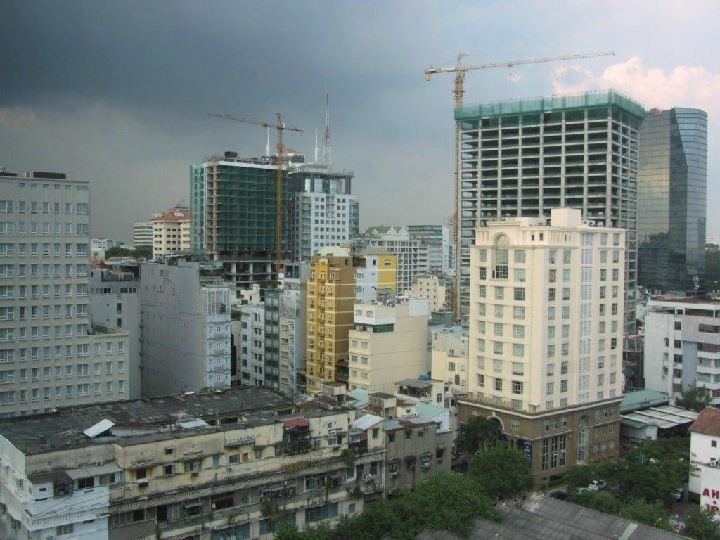 Thi Sach Street, Saigon, Vietnam