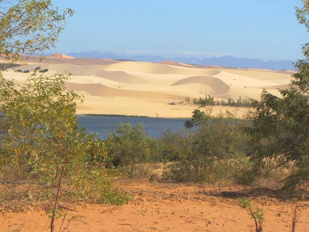 The White Sand Dunes, near Mui Ne, Vietnam