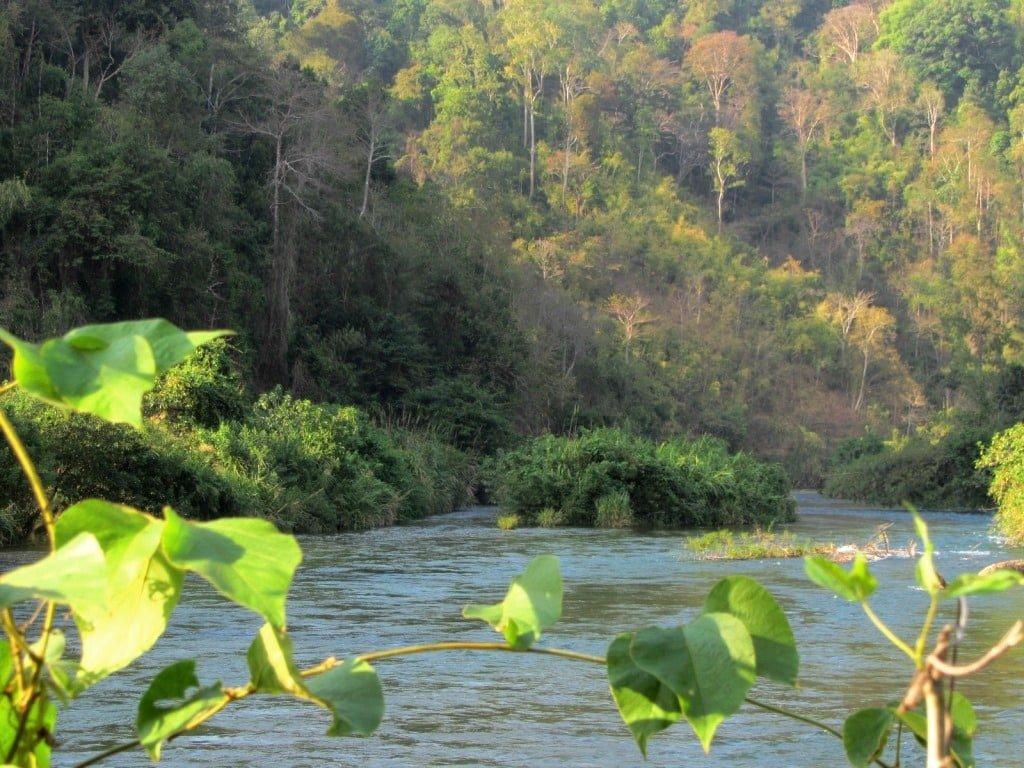 The Đa Mi River, Binh Thuan Province. Vietnam