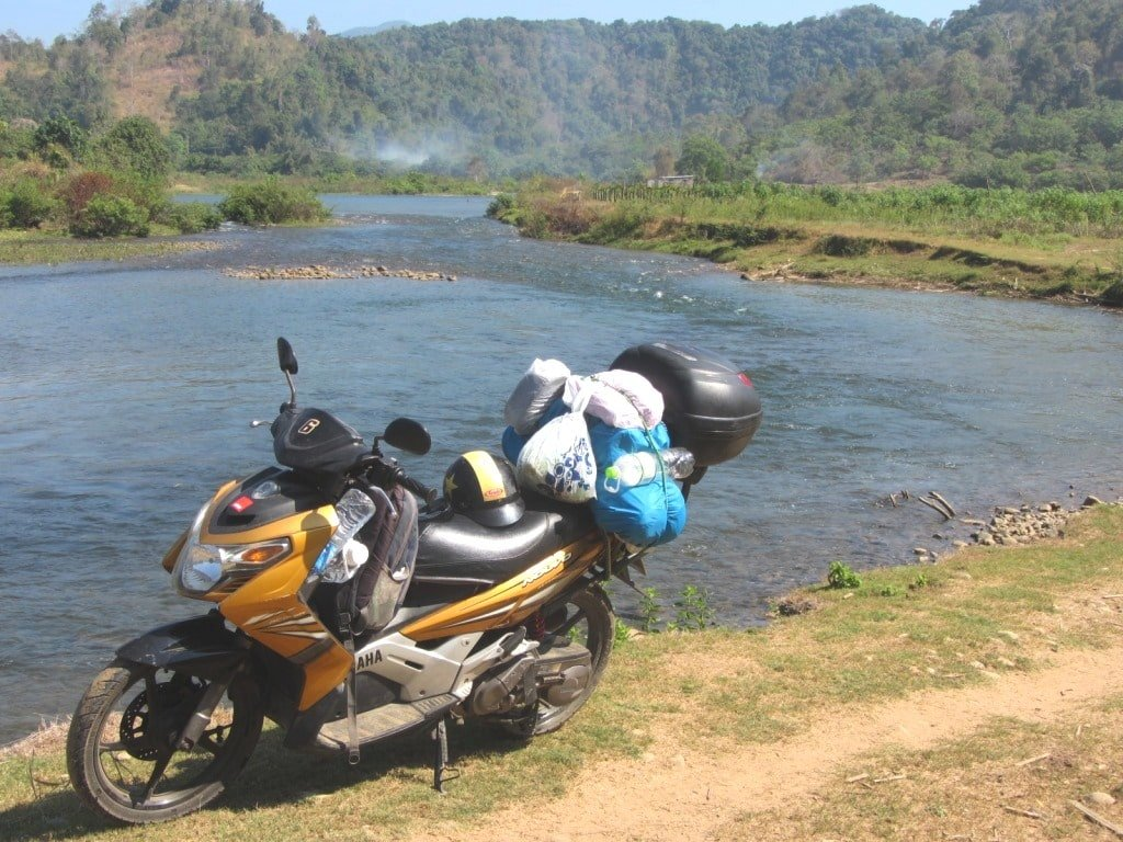 Binh Thuan back-roads by motorbike, Vietnam