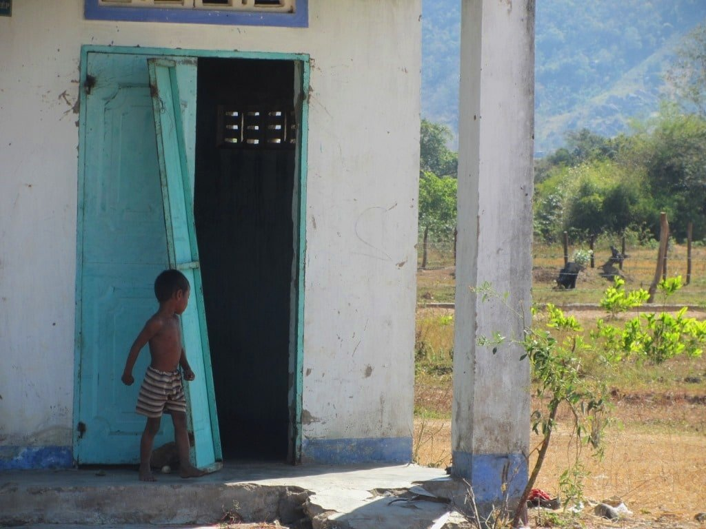 Cham child, Ninh Thuan Province, Vietnam