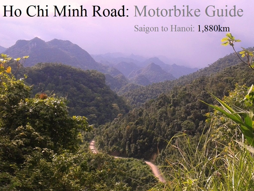 The Ho Chi Minh Road, western branch, Vietnam