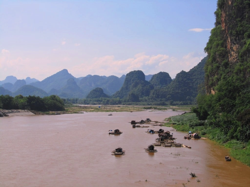 The Ma River, Thanh Hoa Province, Vietnam