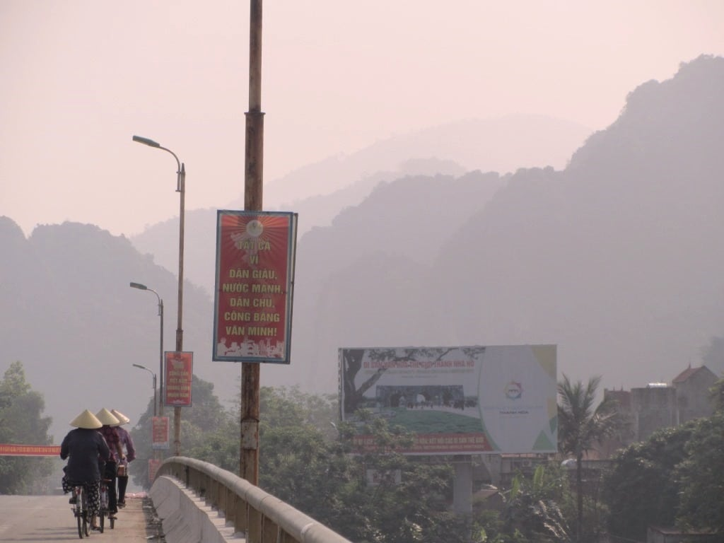 The Ho Chi Minh Road, Thanh Hoa Province, Vietnam
