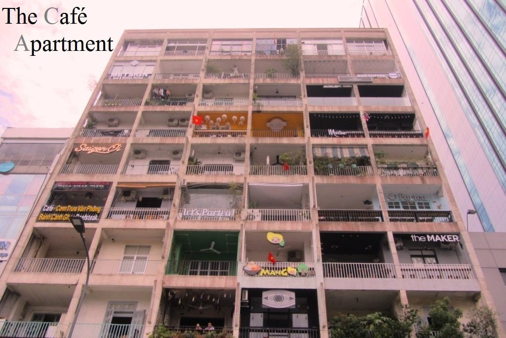 The Cafe Apartment 42 Nguyen Hue Walking Street Saigon
