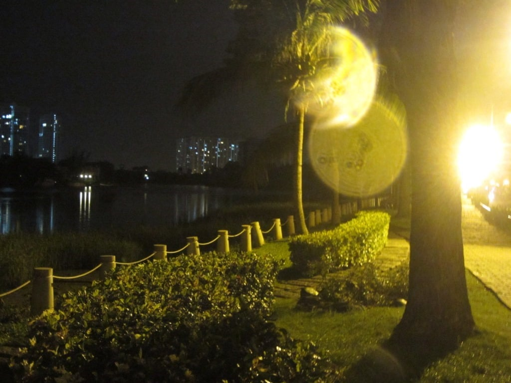 Panorama Park at night, District 7, Saigon