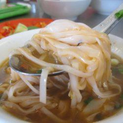 Goat noodle soup in Saigon, Vietnam