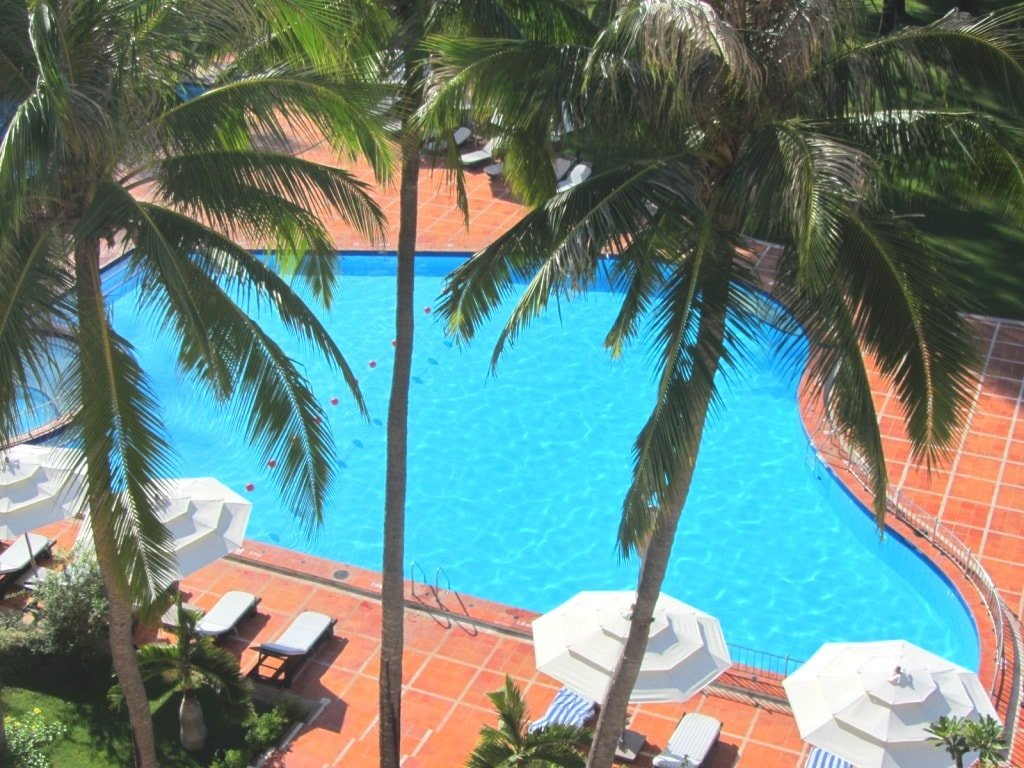 The pool at Ocean Dunes Resort, Phan Thiet, Vietnam