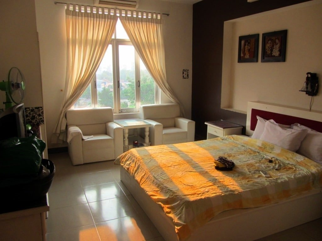 Guest house in Kon Tum, Vietnam