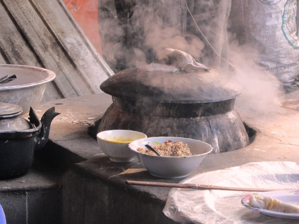 Cooking aromas in northern Vietnam