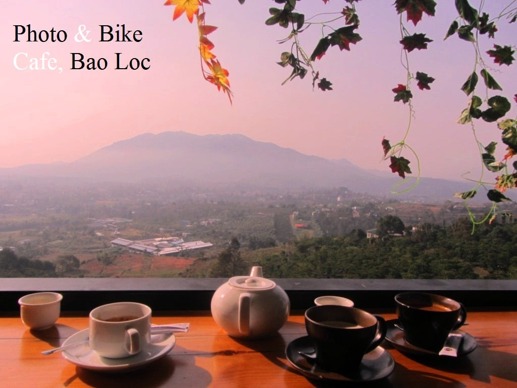 Photo & Bike Cafe, Bao Loc, Central Highlands, Vietnam