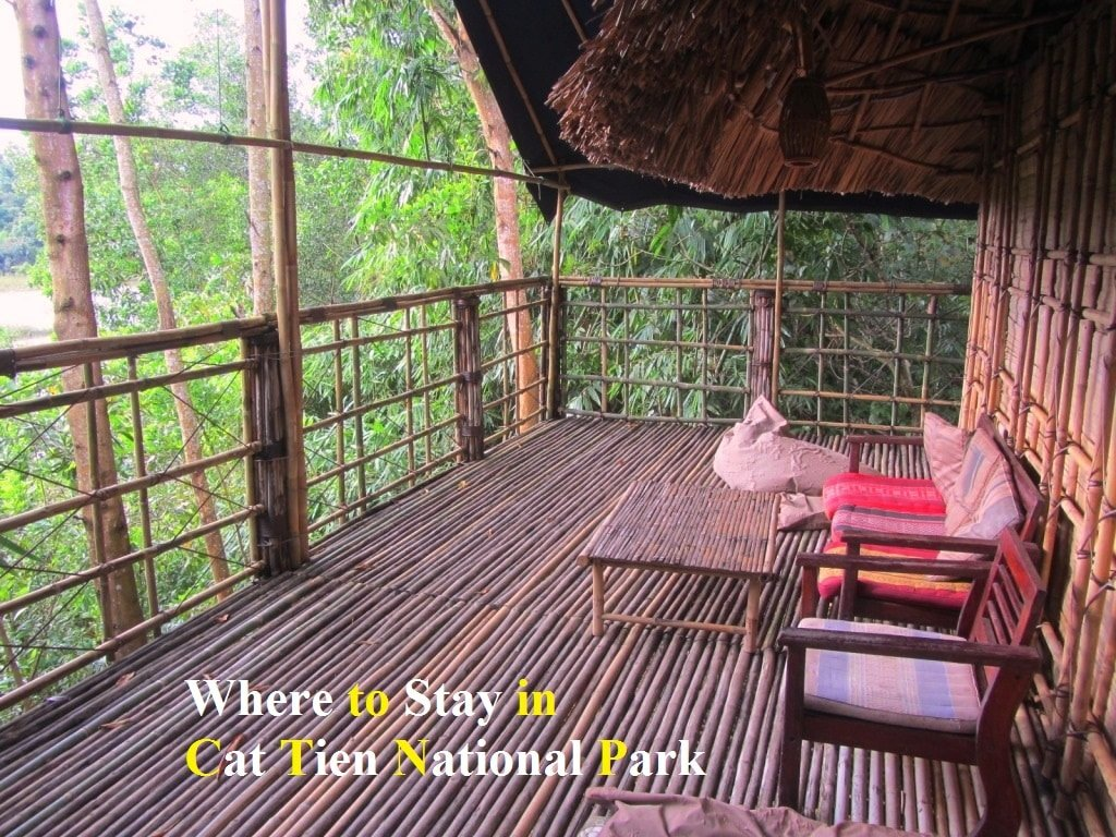Accommodation in Cat Tien National Park, Vietnam