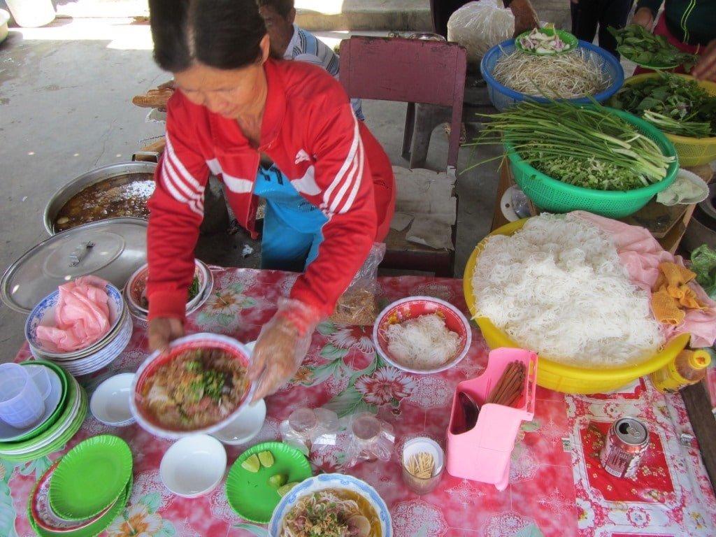 Street food, Binh Lap Village, Vietnam