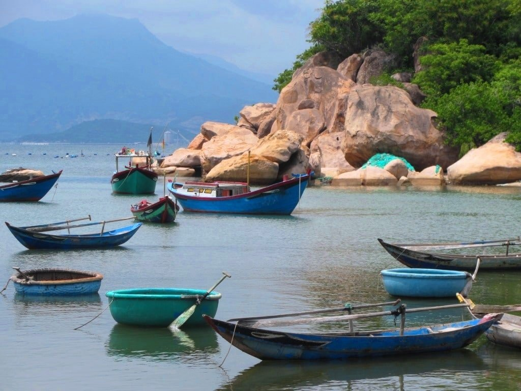 Cam Ranh Bay, Cam Lap Promontory, Vietnam