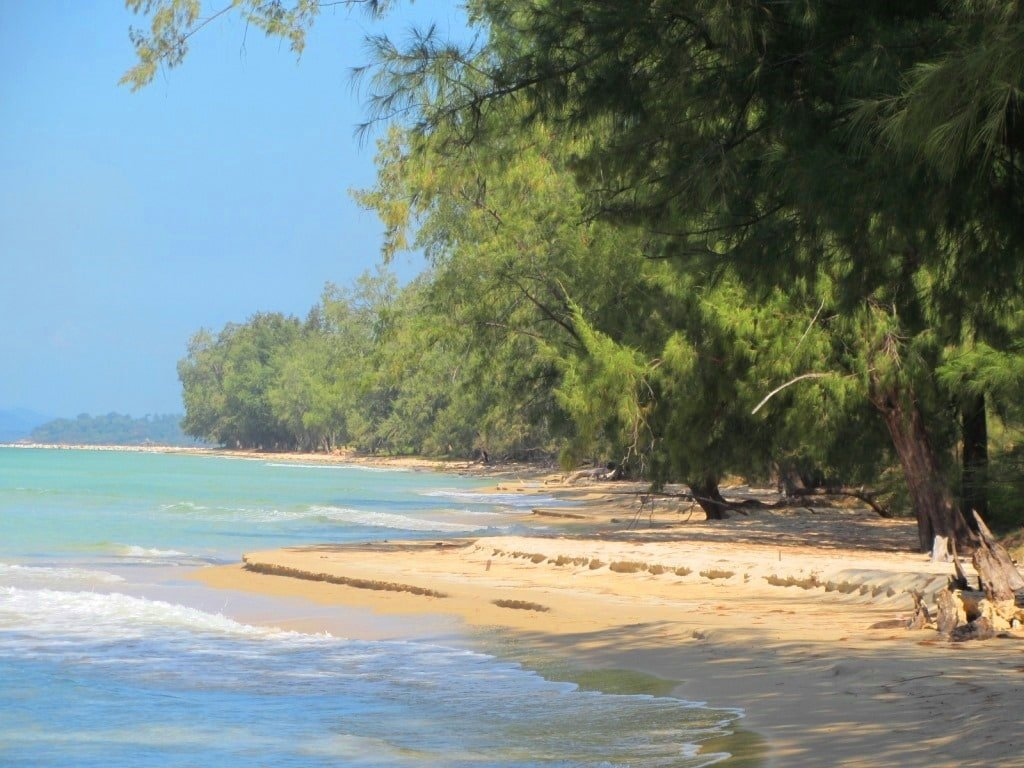 Dai Beach (before development), Phu Quoc Island, Vietnam
