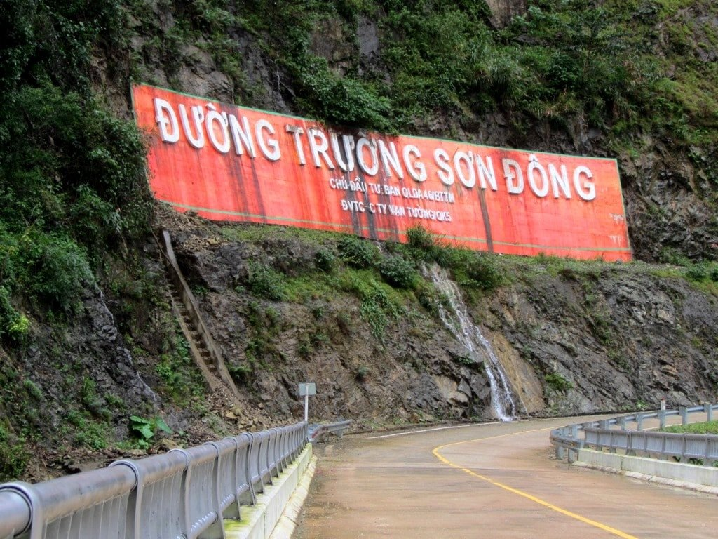 The Truong Son Dong Road, Central Highlands, Vietnam