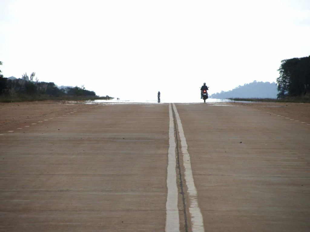 The 'airstrip' on the Truong Son Dong Road, Central Highlands, Vietnam