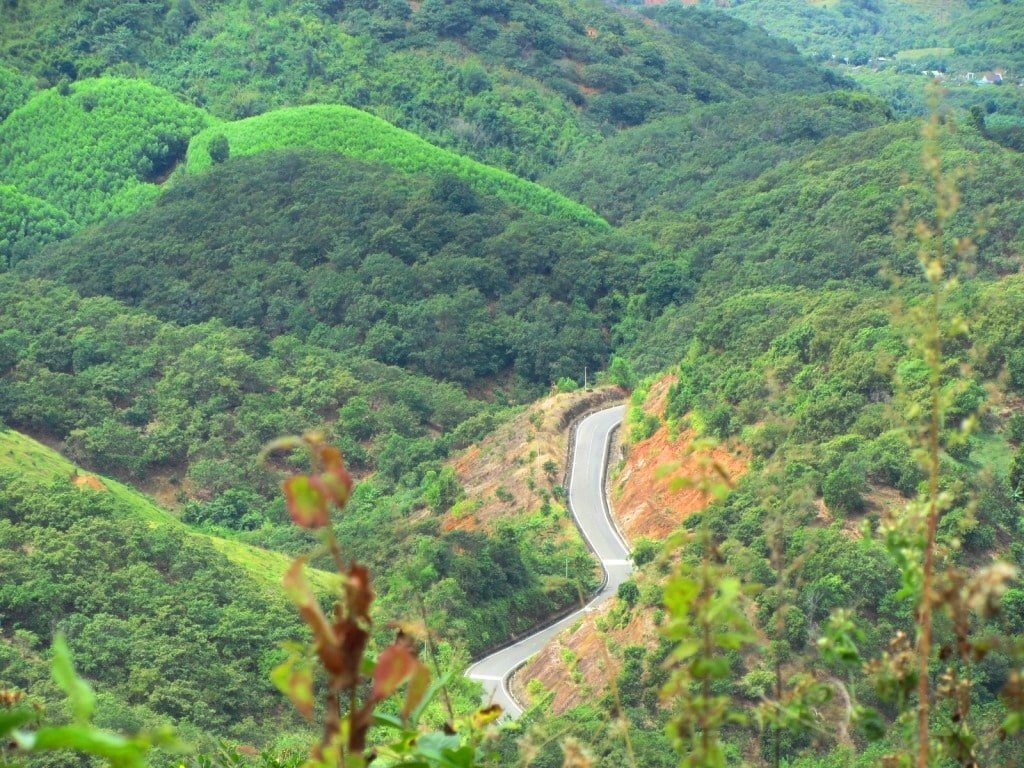 The back road to Dalat, Vietnam