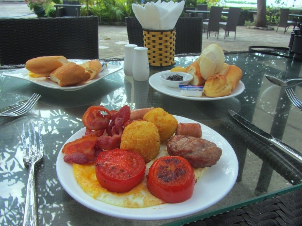 Buffet breakfast, Leman Cap Resort, Vung Tau, Vietnam
