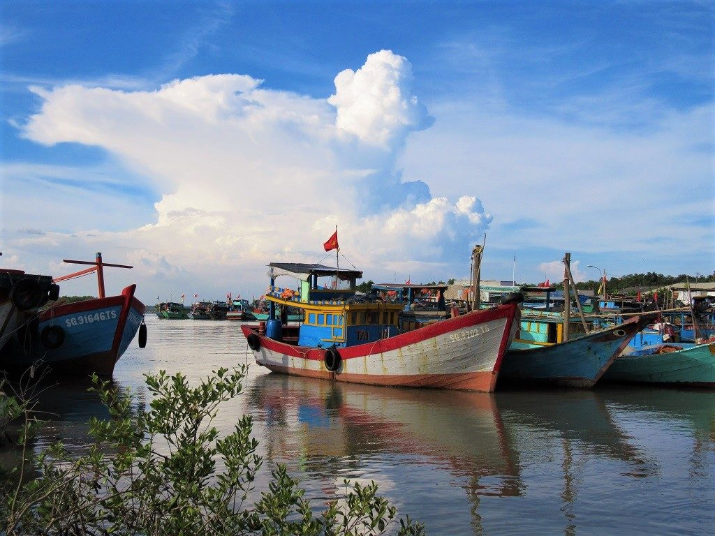 Greenlines ferry port at Can Gio Pier, Vietnam