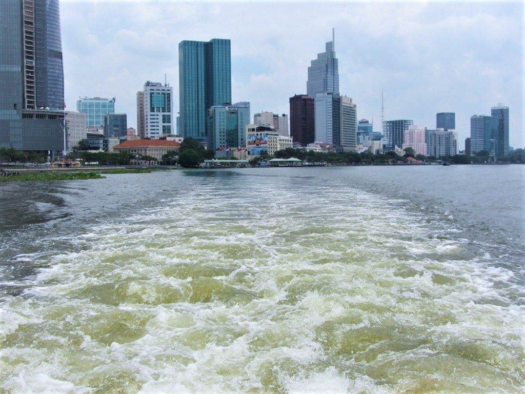 Saigon to Vung Tau ferry boat, Vietnam