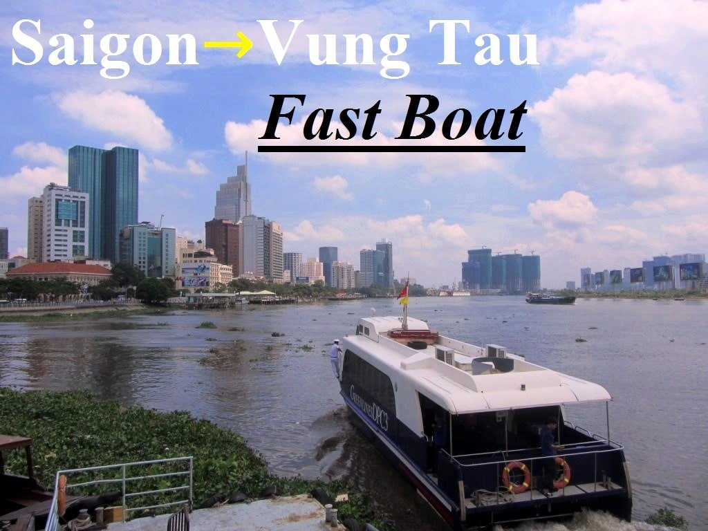 Saigon to Vung Tau by Ferry Boat - Vietnam Coracle