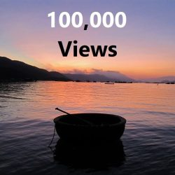 Vietnam Coracle YouTube Channel, 100,000 views