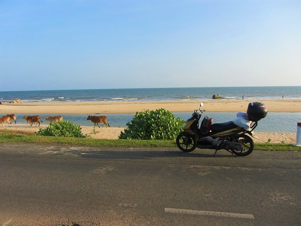 The Ocean Road near Ho Coc, Vietnam
