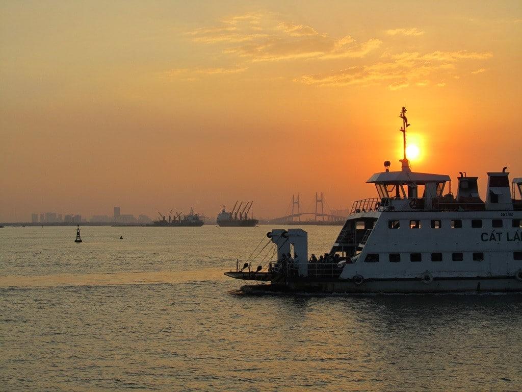 Cat Lai Ferry, Saigon, Vietnam