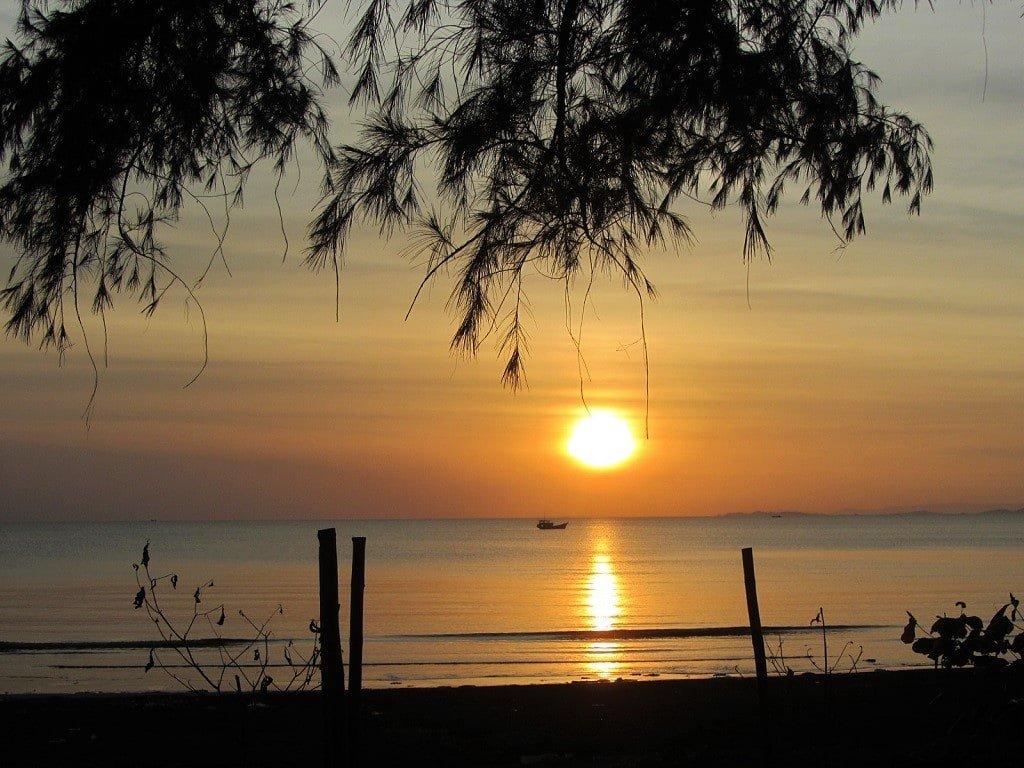 Sunset, Ha Tien, Mekong Delta, Vietnam