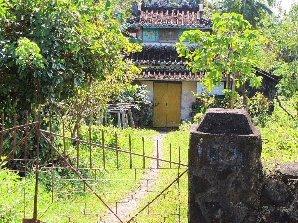 Abandoned temple, Ha Tien, Mekong Delta, Vietnam