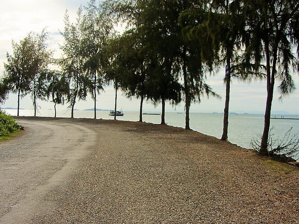 Road to Mui Nai Beach, Ha Tien, Vietnam