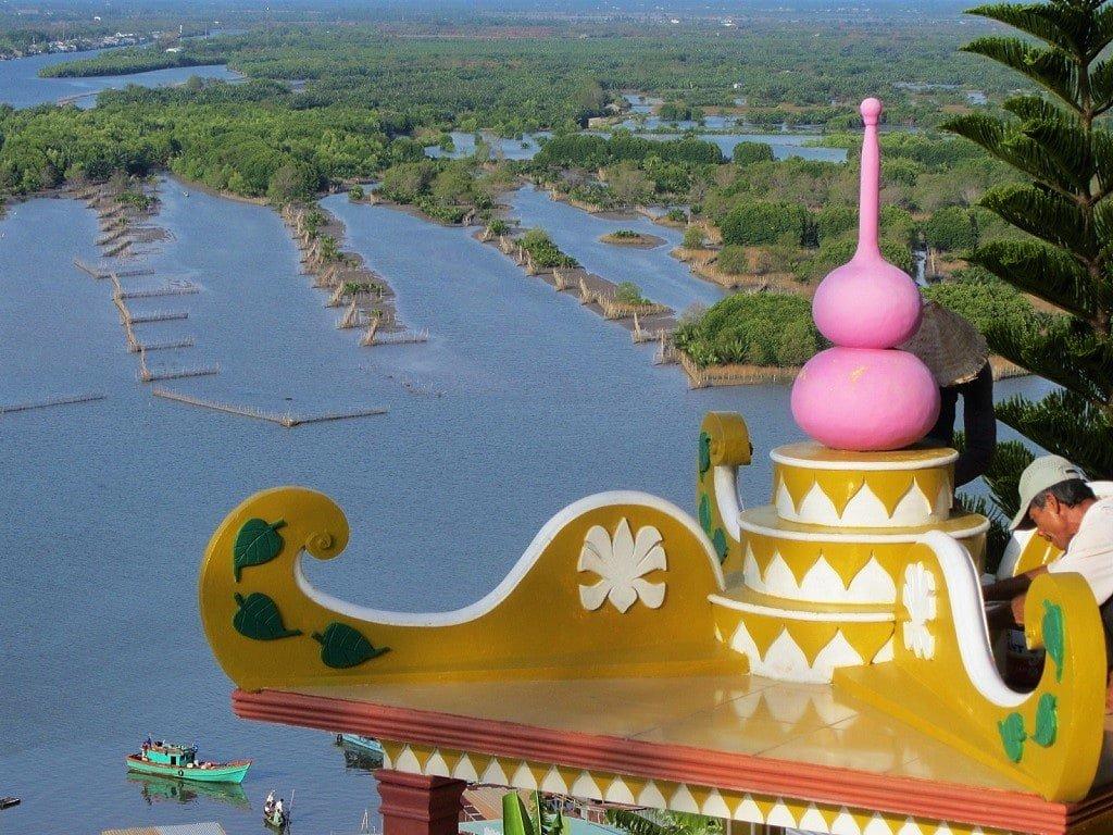 Ngoc Tien Monastery, Ha Tien, Mekong Delta, Vietnam