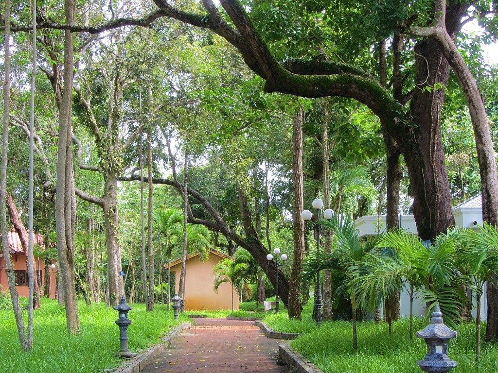 Pathways through greenery, Binh Chau Hot Springs Resort & Spa