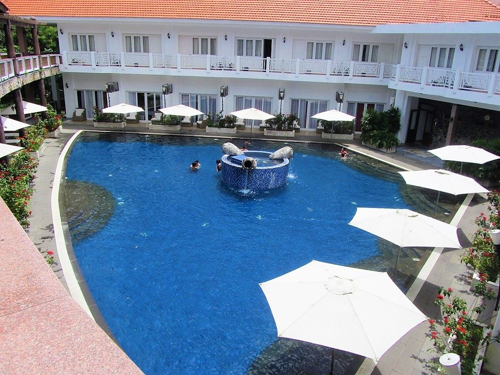 The pool at Binh Chau Hot Springs Resort & Spa