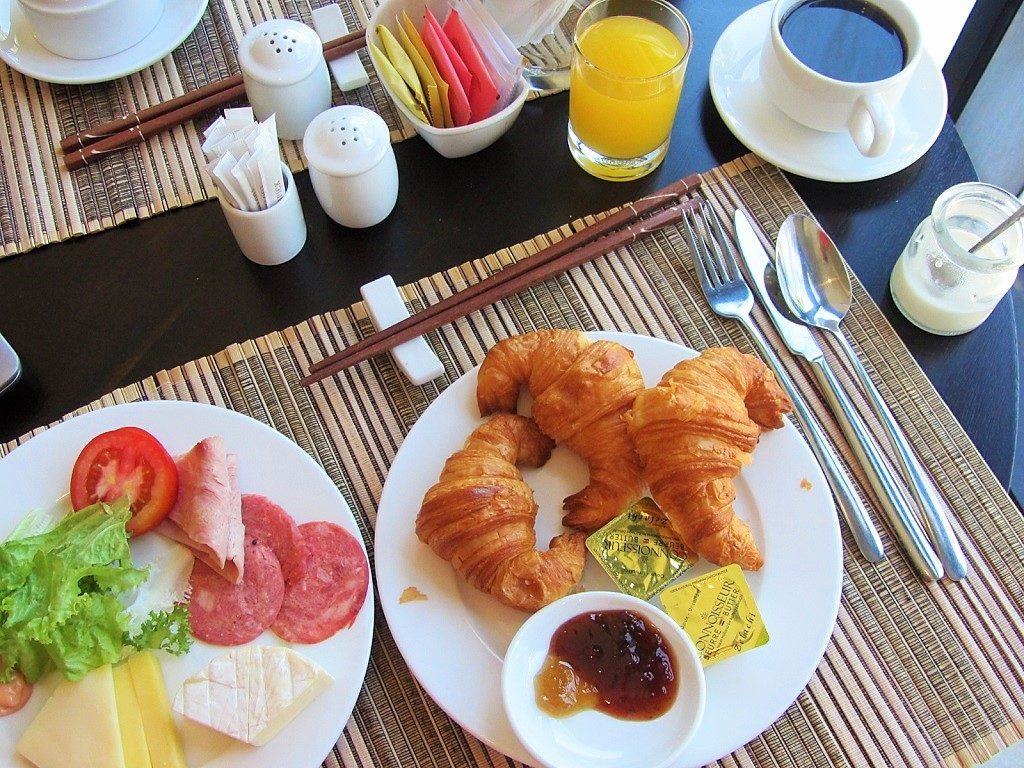 Breakfast at Lasenta Boutique Hotel, Hoi An, Vietnam