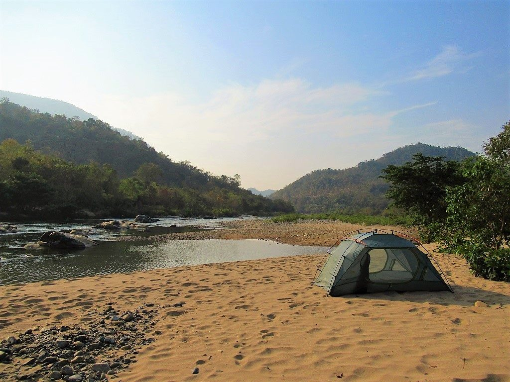 Camping in Phuoc Binh National Park, Vietnam