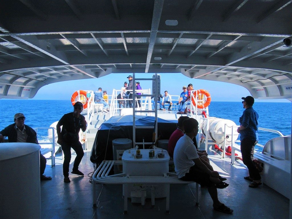 The Superdong ferry from Soc Trang to Con Dao Islands, Vietnam