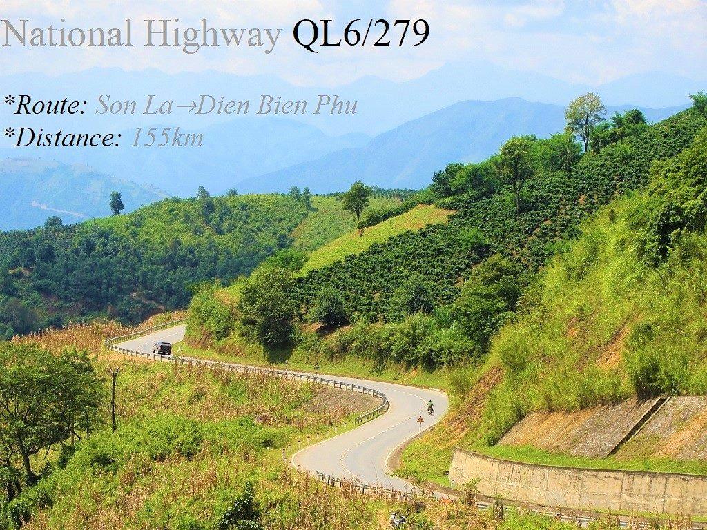 National Highway QL6/279, Son La to Dien Bien Phu, Vietnam