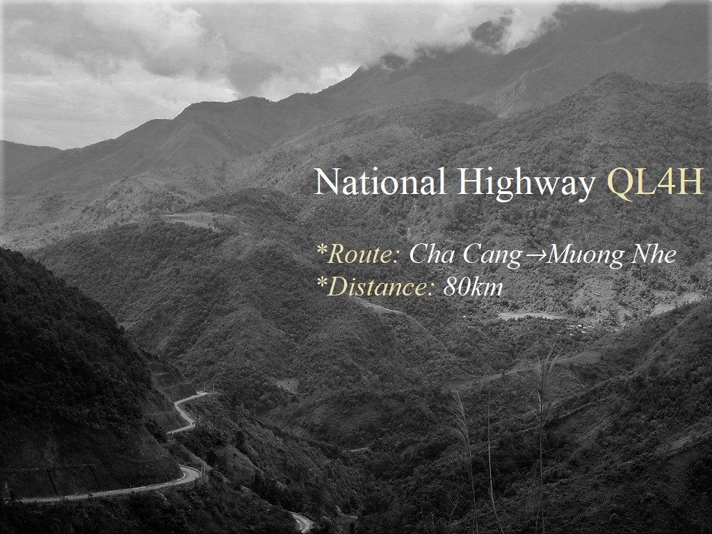 National Highway QL4H, Cha Cang to Muong Nhe, Dien Bien Province, Vietnam