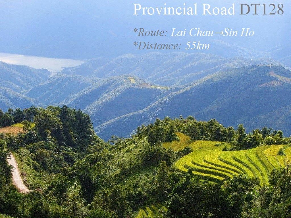 Provincial Road DT128, Lai Chau to Sin Ho, Vietnam