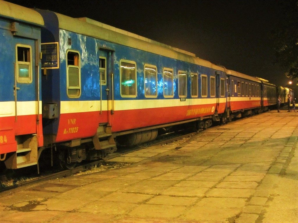 The Fanxipan Express, Hanoi to Lao Cai sleeper train, Vietnam