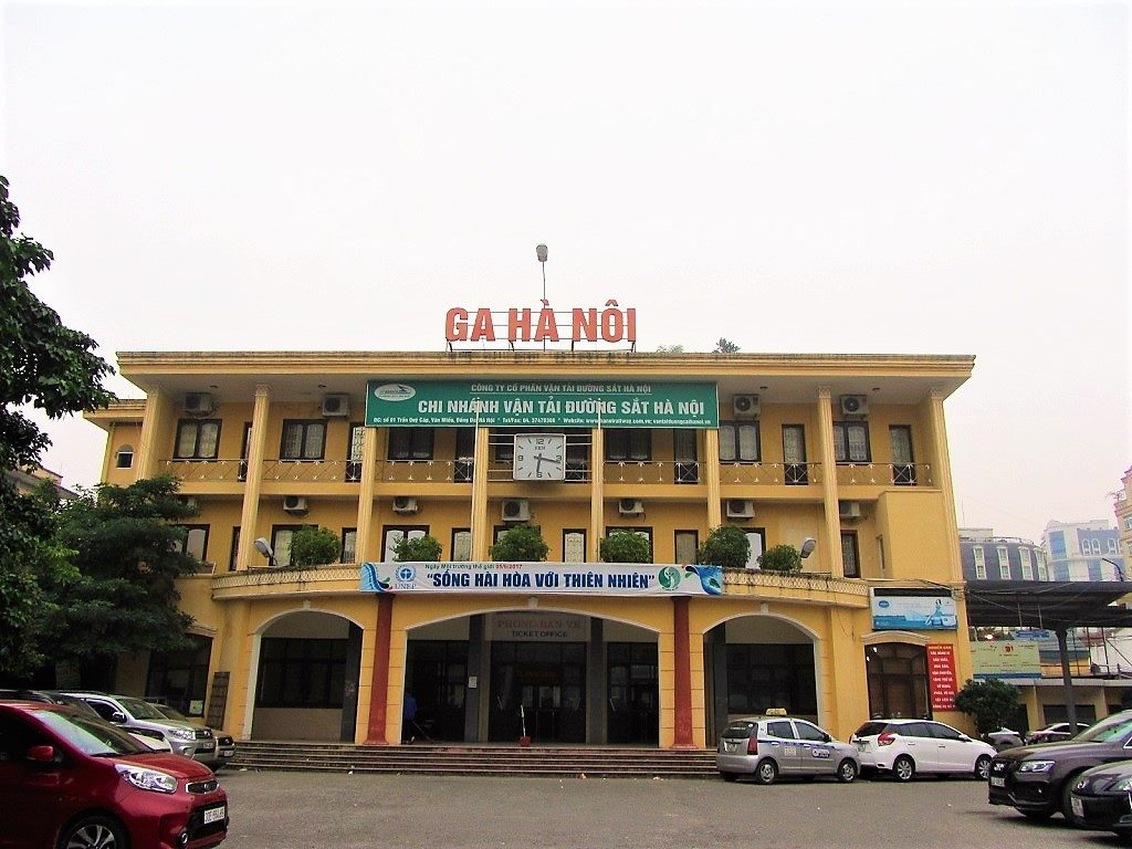 Tran Quy Cap train station (Hanoi station B), Vietnam