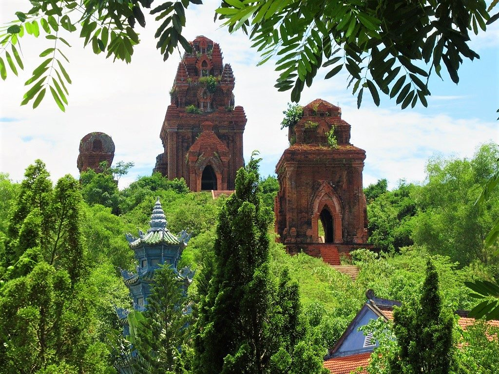 Banh It Cham towers, Binh Dinh Province, Vietnam