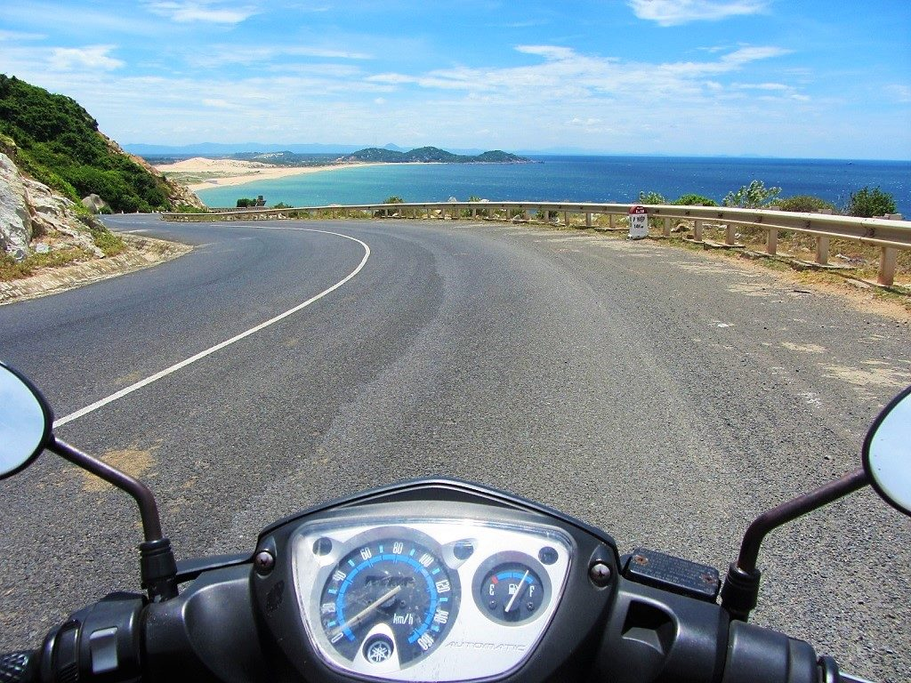 The coast road between Vung Ro Bay & Tuy Hoa, Phu Yen, Vietnam