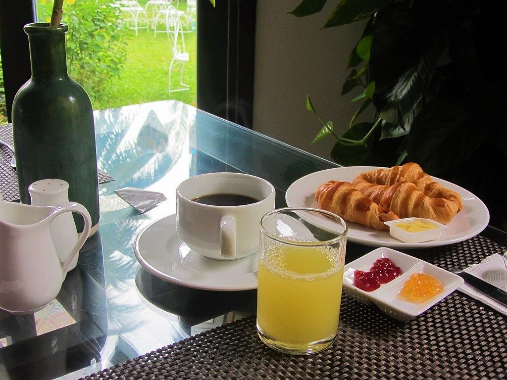Breakfast at Hoi An Waterway Resort, Vietnam